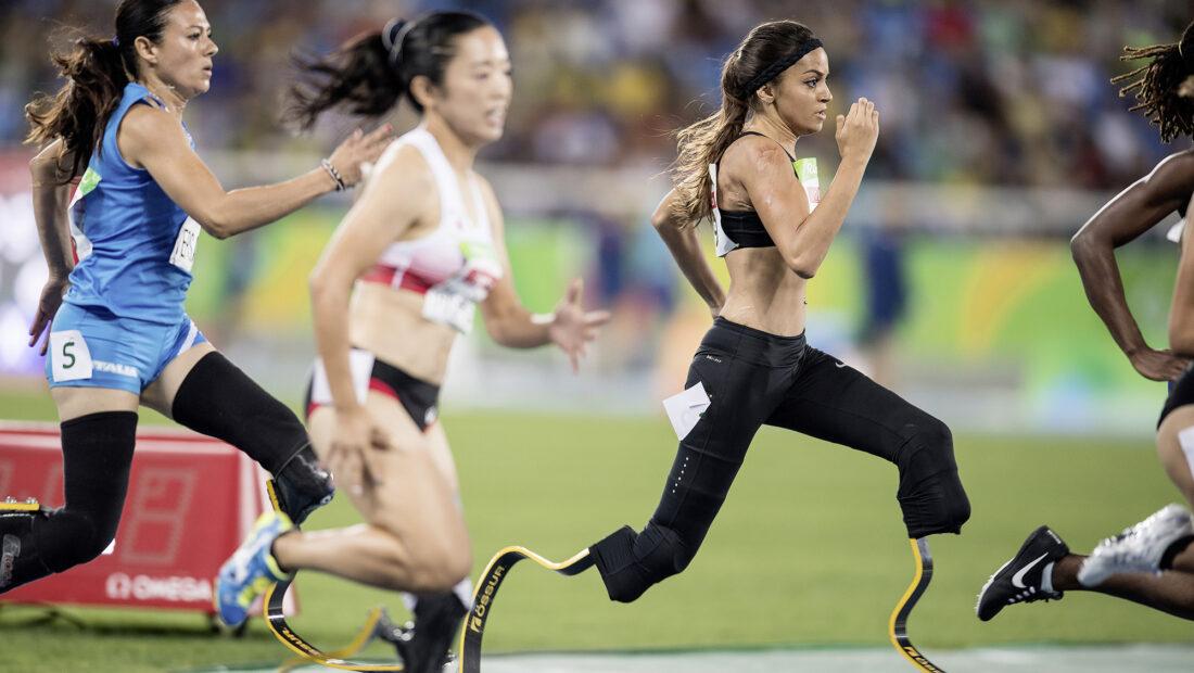 Abassia Rahmani qualifiziert sich souveraen für das morgige Final ueber 200m T43